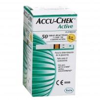 ACCU-CHEK X50 TIRAS REACTIVAS ACTIVE