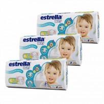 Pañales Estrella Kit X 5 Paquetes XG X36