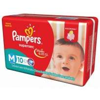PAMPERS SUPERSEC X10 M