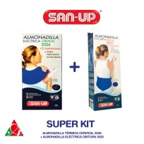 SAN UP KIT ALMOHADILLA CERVICAL 3026 + ALMOHAD CINTURA