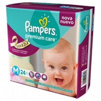 PAMPERS PREMIUN CARE X24 MEDIANO