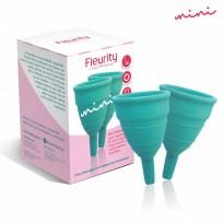 FLEURITY KIT COPA MENSTRUAL TIP MINI X2 U.