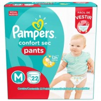 PAMPERS CONFORT SEC X22 M