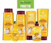 FRUCTIS KIT LINEA COCO LISO shx2+enjx2+crema+oleo