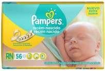 PAMPERS REC.NACIDO X56 EX.SVE