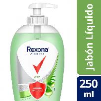 REXONA JABON LIQUIDO X250 ANTIBACTERIAL ALOE