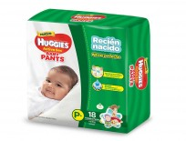 HUGGIES PANTS X18 RECIEN NACIDO 4 A 8KG