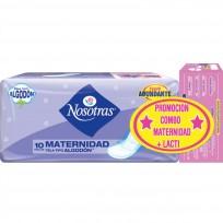 NOSOTRAS Toallas mama x10 + Protectores Lactancia