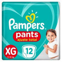 PAMPERS PANTS X12 XG