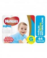 HUGGIES NATURAL CARE NENE X44 G