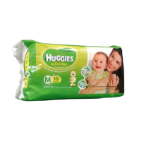 HUGGIES ACT.SEC VERDE X10 M