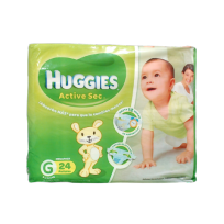 HUGGIES ACT.SEC VERDE X22 G