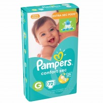 PAMPERS CONFORT SEC X72 G