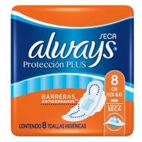 ALWAYS X8 PROTECC.PLUS AL.SECA