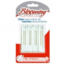 CONSERVACION DE LECHE CLIPS X8 BLOOMING