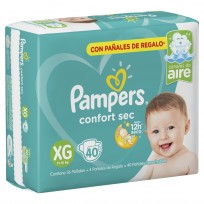 PAMPERS CONFORT SEC X40 XG