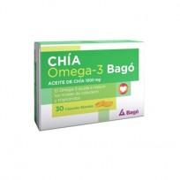 CHIA OMEGA-3 1000MG CAPS X 30
