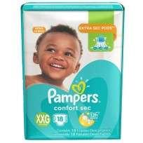 PAMPERS COMFORT SEC X18 XXG