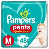 PAMPERS PANTS X48 M CONFOERT SEC