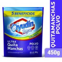 AYUDIN QUITAMANCHAS COLORES X450 POLVO