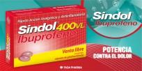IBUPROFENO SINDOL 400 VL CAPSULA BLANDA X20
