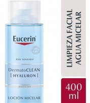 EUCERIN LOCION MICELAR 3EN1 X400 HYALURON