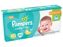 PAMPERS CONFORT SEC X60 XG