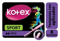 KOTEX TAMPON APLIC.X8 MINI