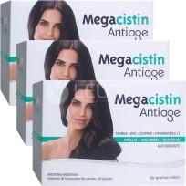 MEGACISTIN ANTIAGE ANTIOXIDANTE PACK X3 CAJAS X30 COMP.