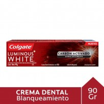 COLGATE X90 LUMINOUS WHITE CARBON ACTIVADO X90