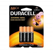 DURACELL PILA AAA X4