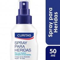 CURITAS SPRAY HERIDAS X50ML